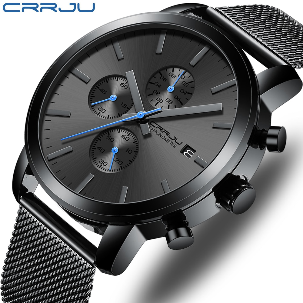 CRRJU-Fashion-Mens-Watches-2020-Luxury-Top-Brand-Quartz-Watch-Military-Sport-Mesh-Strap-Waterproof-Wrist